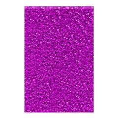 Sparkling Glitter Hot Pink Shower Curtain 48  X 72  (small)  by ImpressiveMoments