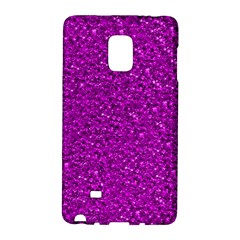 Sparkling Glitter Hot Pink Galaxy Note Edge by ImpressiveMoments