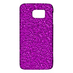 Sparkling Glitter Hot Pink Galaxy S6