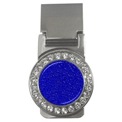 Sparkling Glitter Inky Blue Money Clips (cz)  by ImpressiveMoments