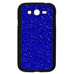Sparkling Glitter Inky Blue Samsung Galaxy Grand DUOS I9082 Case (Black) by ImpressiveMoments