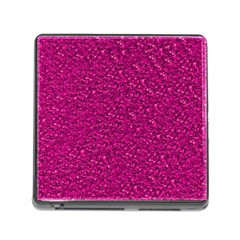 Sparkling Glitter Pink Memory Card Reader (square) by ImpressiveMoments