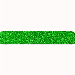 Sparkling Glitter Neon Green Small Bar Mats