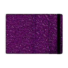 Sparkling Glitter Plum Apple Ipad Mini Flip Case by ImpressiveMoments