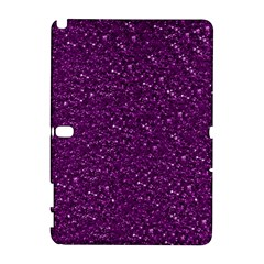 Sparkling Glitter Plum Samsung Galaxy Note 10 1 (p600) Hardshell Case by ImpressiveMoments