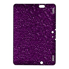 Sparkling Glitter Plum Kindle Fire Hdx 8 9  Hardshell Case by ImpressiveMoments