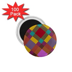 Shapes Pattern 1 75  Magnet (100 Pack)  by LalyLauraFLM