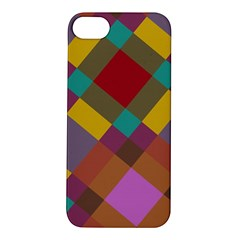 Shapes Pattern Apple Iphone 5s Hardshell Case by LalyLauraFLM
