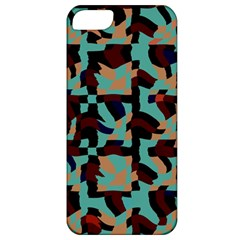 Distorted Shapes In Retro Colors Apple Iphone 5 Classic Hardshell Case by LalyLauraFLM