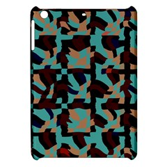 Distorted Shapes In Retro Colors Apple Ipad Mini Hardshell Case by LalyLauraFLM