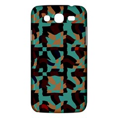 Distorted Shapes In Retro Colors Samsung Galaxy Mega 5 8 I9152 Hardshell Case  by LalyLauraFLM