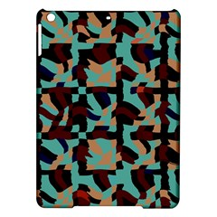 Distorted Shapes In Retro Colors Apple Ipad Air Hardshell Case by LalyLauraFLM