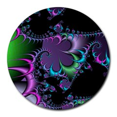 Fractal Dream Round Mousepads by ImpressiveMoments