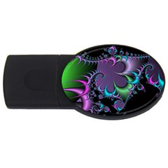 Fractal Dream USB Flash Drive Oval (1 GB)  by ImpressiveMoments