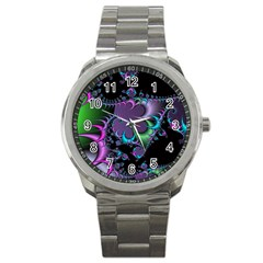 Fractal Dream Sport Metal Watches by ImpressiveMoments