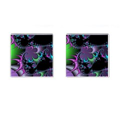 Fractal Dream Cufflinks (square) by ImpressiveMoments