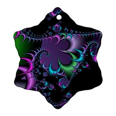 Fractal Dream Snowflake Ornament (2 Side) by ImpressiveMoments