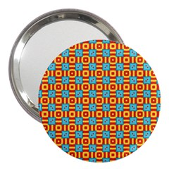 Cute Pretty Elegant Pattern 3  Handbag Mirrors by creativemom