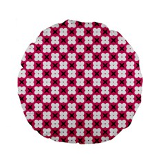 Cute Pretty Elegant Pattern Standard 15  Premium Flano Round Cushions by creativemom