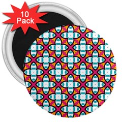 Pattern 1284 3  Magnets (10 Pack)  by creativemom