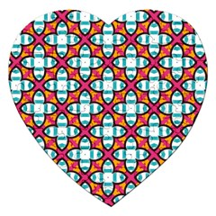 Pattern 1284 Jigsaw Puzzle (heart) by creativemom