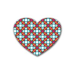 Pattern 1284 Rubber Coaster (heart)  by creativemom