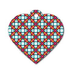 Pattern 1284 Dog Tag Heart (two Sides) by creativemom