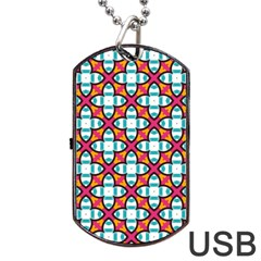 Pattern 1284 Dog Tag Usb Flash (one Side) by creativemom