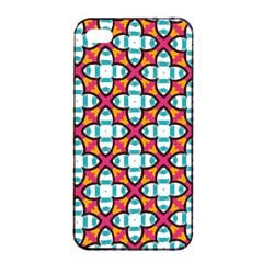 Pattern 1284 Apple Iphone 4/4s Seamless Case (black) by creativemom