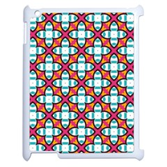 Pattern 1284 Apple Ipad 2 Case (white) by creativemom