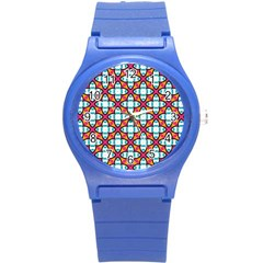Pattern 1284 Round Plastic Sport Watch (s) by creativemom