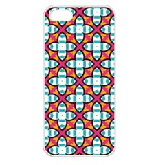 Pattern 1284 Apple Iphone 5 Seamless Case (white) by creativemom