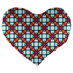 Pattern 1284 Large 19  Premium Heart Shape Cushions by creativemom