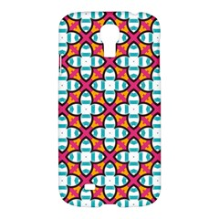 Pattern 1284 Samsung Galaxy S4 I9500/i9505 Hardshell Case by creativemom
