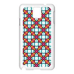 Pattern 1284 Samsung Galaxy Note 3 N9005 Case (white) by creativemom