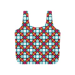 Pattern 1284 Full Print Recycle Bags (s)  by creativemom