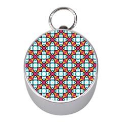 Pattern 1284 Mini Silver Compasses by creativemom