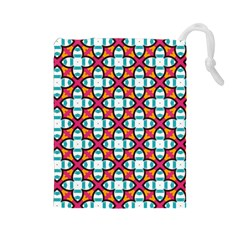 Pattern 1284 Drawstring Pouches (Large)  by creativemom