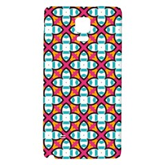 Pattern 1284 Galaxy Note 4 Back Case by creativemom