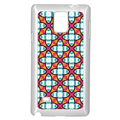 Pattern 1284 Samsung Galaxy Note 4 Case (white) by creativemom