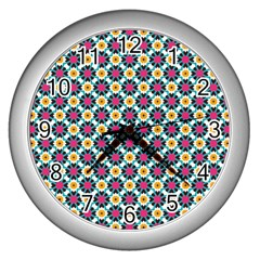 Pattern 1282 Wall Clocks (silver)  by creativemom