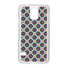 Pattern 1282 Samsung Galaxy S5 Case (white) by creativemom