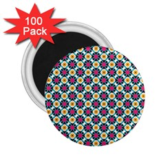 Cute Abstract Pattern Background 2 25  Magnets (100 Pack)  by creativemom