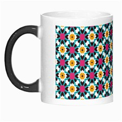 Cute Abstract Pattern Background Morph Mugs by creativemom