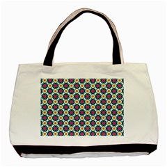 Cute Abstract Pattern Background Basic Tote Bag (two Sides)  by creativemom