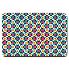 Cute Abstract Pattern Background Large Doormat  by creativemom