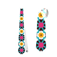 Cute Abstract Pattern Background Neckties (two Side)  by creativemom