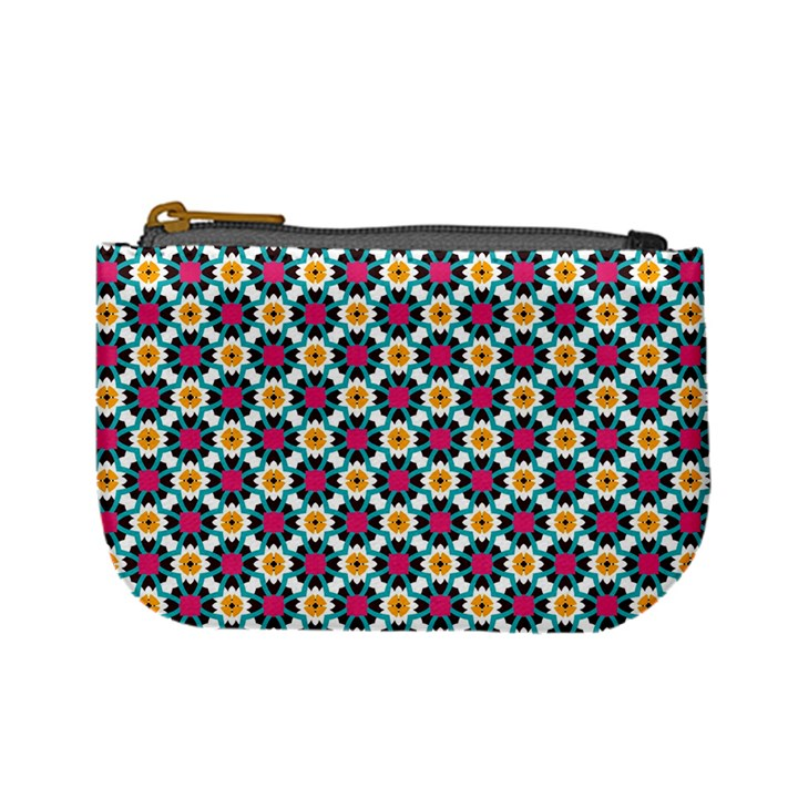 Cute abstract Pattern background Mini Coin Purses