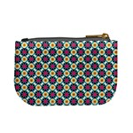 Cute abstract Pattern background Mini Coin Purses Back