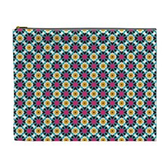 Cute Abstract Pattern Background Cosmetic Bag (xl) by creativemom